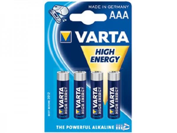 4x Varta Batterie HighEnergy f. Motorola D1111