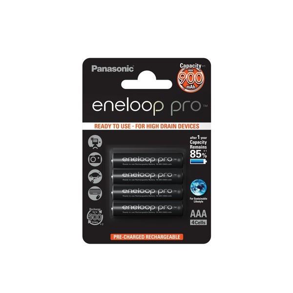 4x Panasonic eneloop Pro Akkus f. Gigaset C300